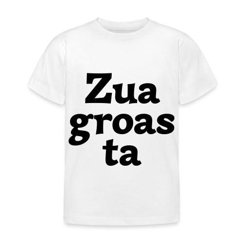 Zuagroasta - Kinder T-Shirt