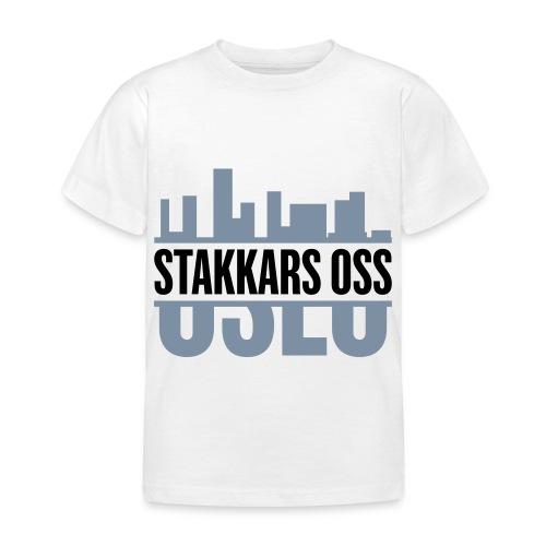 stakkars oss logo 2 ny - T-skjorte for barn