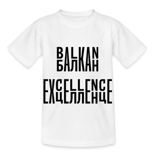 Balkan Excellence vert. - Kids' T-Shirt