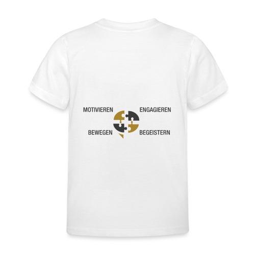 Ein Puzzel setzt sich zusammen - Kinder T-Shirt