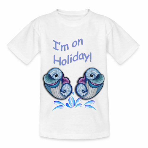 I'm on holliday - Kids' T-Shirt