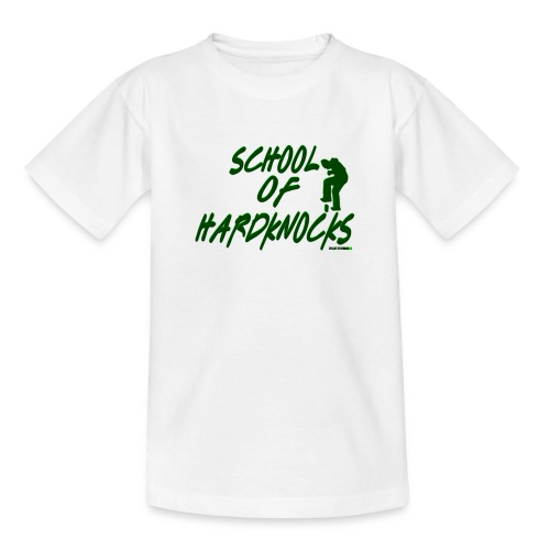 school of hardknocks ver 0 2 green - Børne-T-shirt