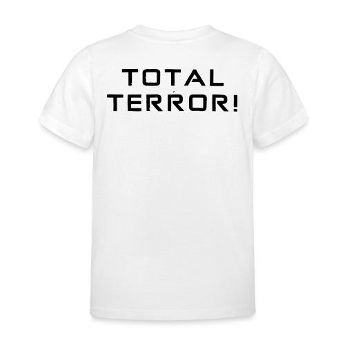 Black Negant logo + TOTAL TERROR! - Børne-T-shirt