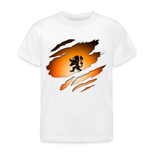 Dutch Inside: Leeuw - Kinderen T-shirt