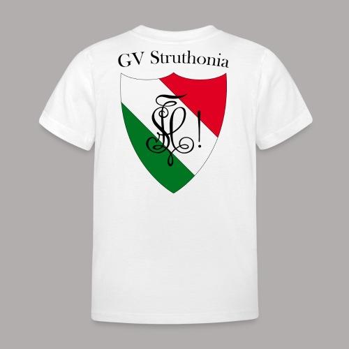 Wappen Struthonia beschriftet - Kinder T-Shirt