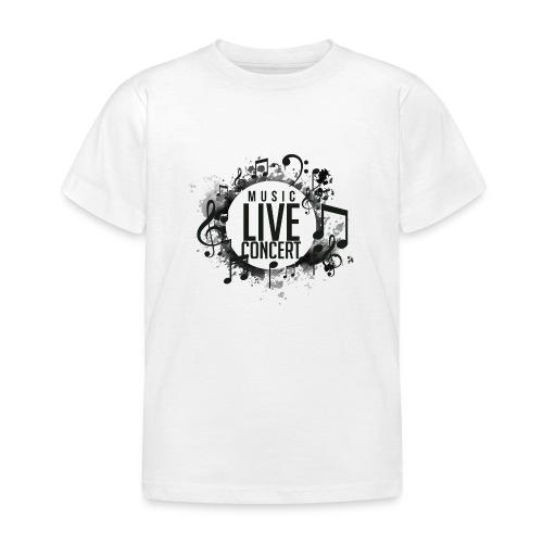 musica - Camiseta niño