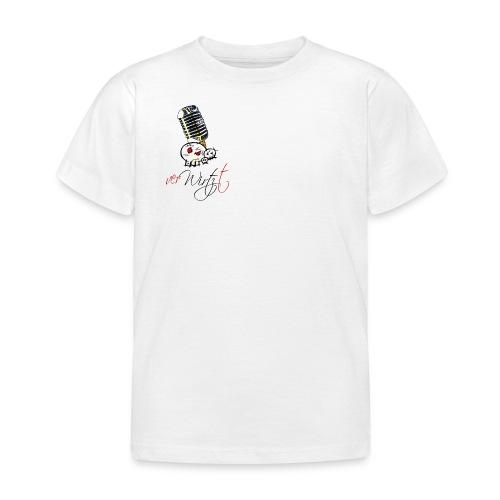 verWIRTZt schwarz - Kinder T-Shirt