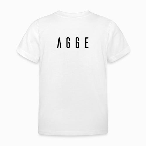Agge - Svart logga   Bak - T-shirt barn