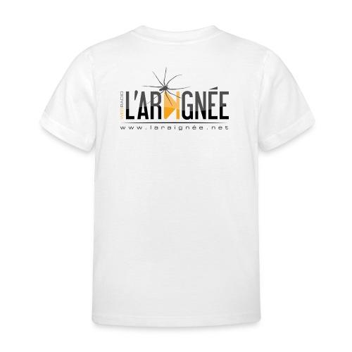 L'ARAIGNÉE, logo noir - T-shirt Enfant