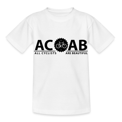 ACAB All Cyclists Are Beautiful T-Shirts - Kinder T-Shirt