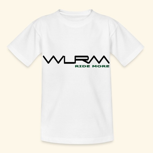 WLRM Schriftzug black png - Kinder T-Shirt