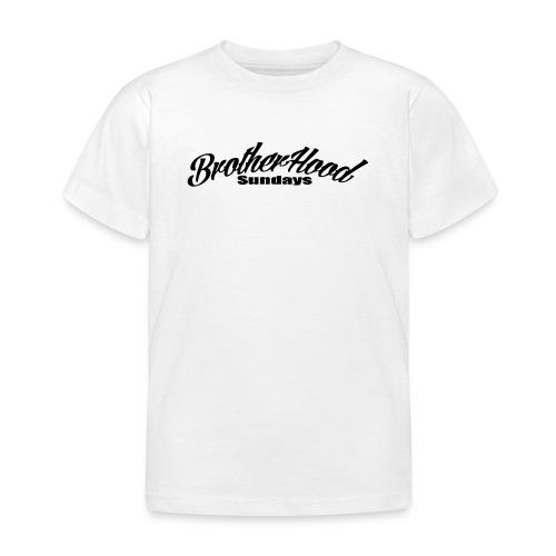 brotherhood sundays - T-shirt Enfant
