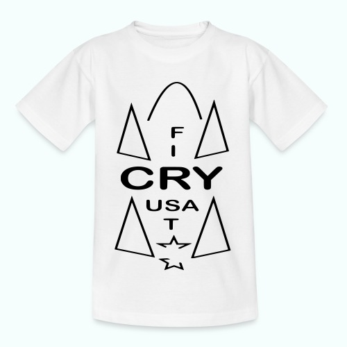 cry usa - Kinder T-Shirt