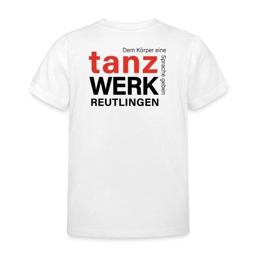 Tanzwerk - Standard - schwarz - Kinder T-Shirt