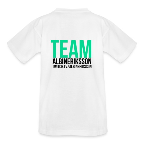 Team albinerikss0n Svart - T-shirt barn