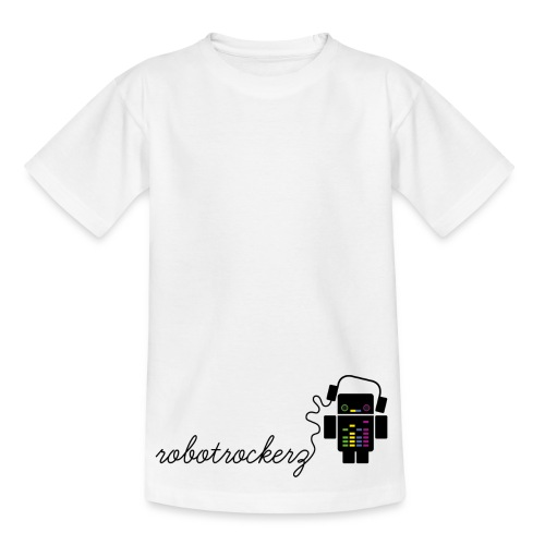 logo robotrockerz 1 - Kinder T-Shirt
