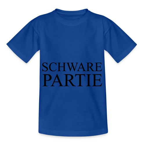schwarePartie png - Kinder T-Shirt