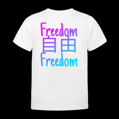 freedom logo #2 - T-shirt Enfant