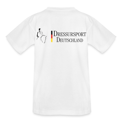 dressursport deutschland horizontal - Kinder T-Shirt