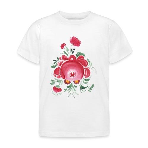 Ostfriesische Rose - Kinder T-Shirt