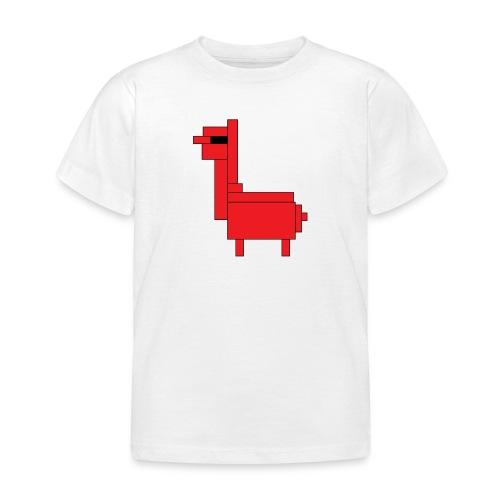 HiRes llama png - Kids' T-Shirt