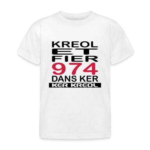 Kreol et Fier dans Ker - T-shirt Enfant
