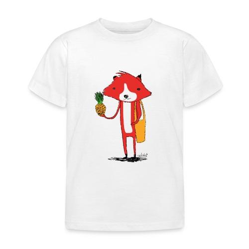 Ananasfüchslein - Kinder T-Shirt
