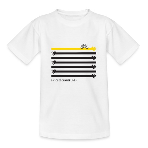 BCL Black Hands One Yellow - Kids' T-Shirt