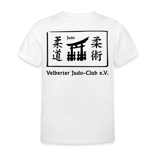 vjc logos judo export - Kinder T-Shirt