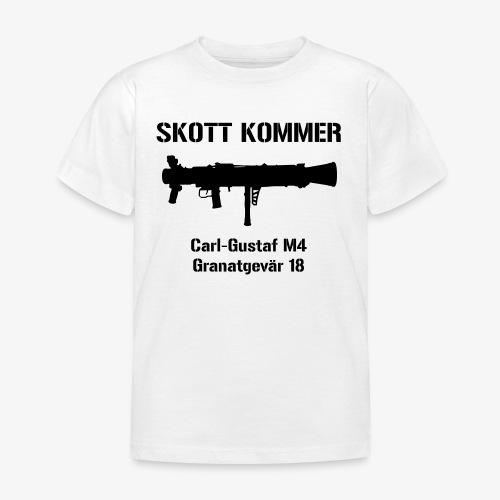 SKOTT KOMMER - KLART BAKÅT - SWE Flag - T-shirt barn