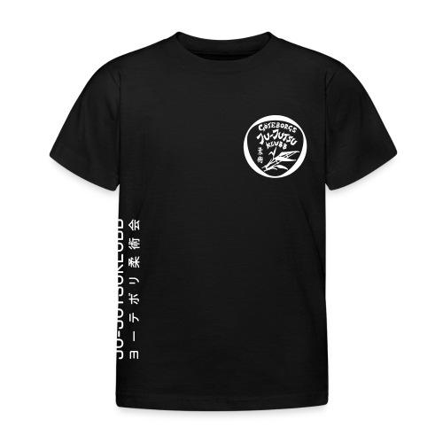 rygg centrerad tshirt hoodjacka troeja - T-shirt barn