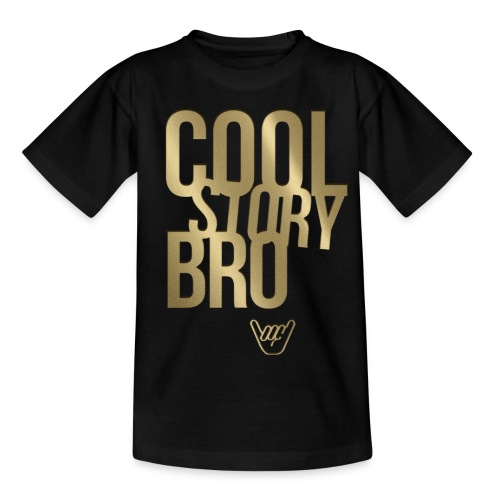 Cool Story Bro - Kinder T-Shirt
