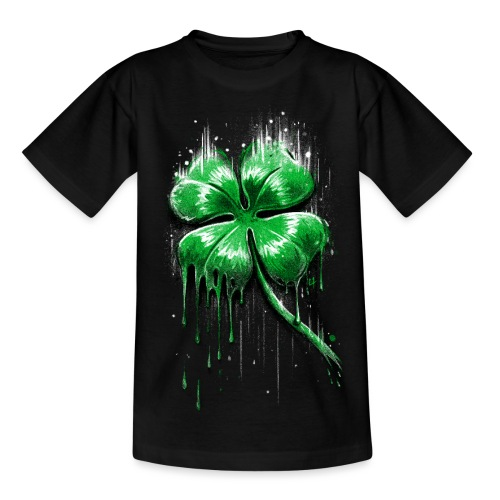 Four Leaf Clover - Kids' T-Shirt