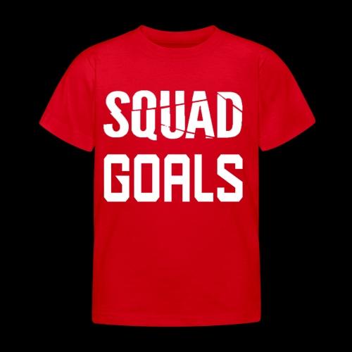 squad goals - Kinderen T-shirt