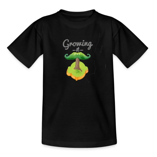 Moustache tree - Kids' T-Shirt
