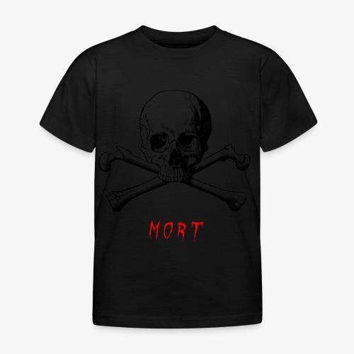 MORT - T-shirt Enfant