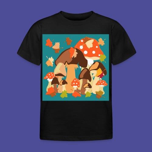 Pilze - Kinder T-Shirt