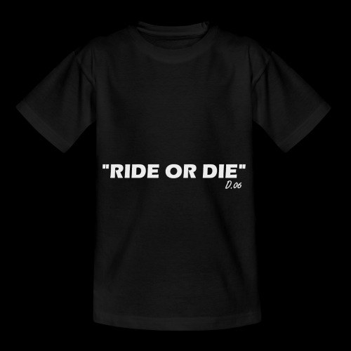 Ride or die (blanc) - T-shirt Enfant
