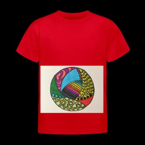 circle corlor - Børne-T-shirt