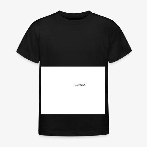UNIVERSE BRAND SPONSOR - Maglietta per bambini