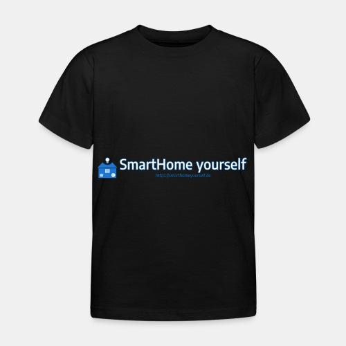 SmarthomeYourself Logo - Kinder T-Shirt