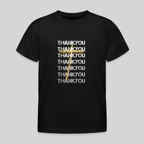DANKE Jesus, das Geschenk für Christen THANKYOU - Kinder T-Shirt