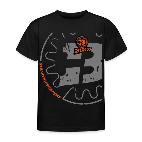 BUKK SPSHIRT maviensutkahville orange - Lasten t-paita