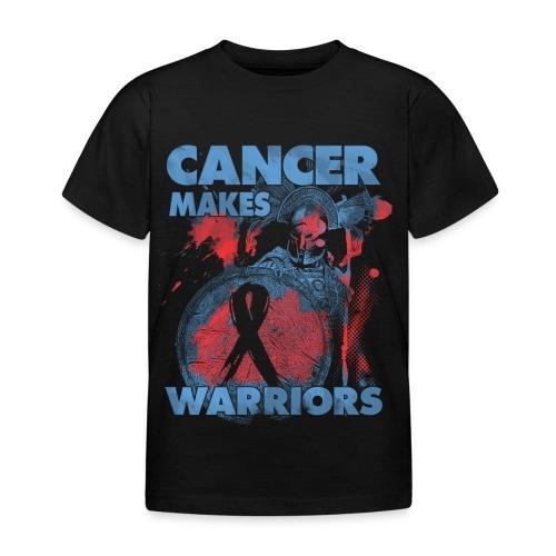cancer makes warriors - Kids' T-Shirt