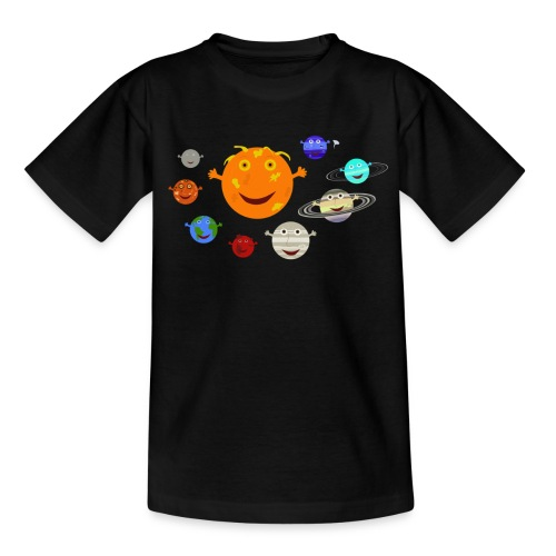the solar system 1 png - Kids' T-Shirt