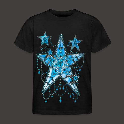 ETOILE DENTELLE BLEUE - T-shirt Enfant