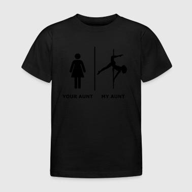 Votre tante je Ma tante, noir - T-shirt Enfant