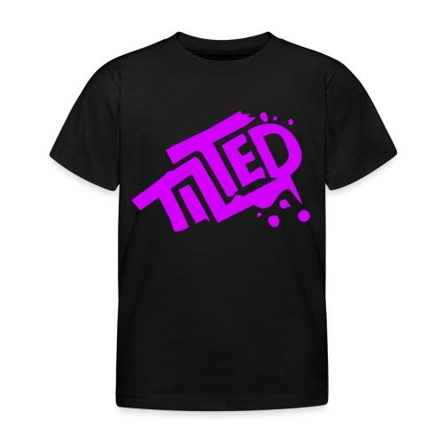 Fortnite Tilted (Pink Logo) - Kids' T-Shirt