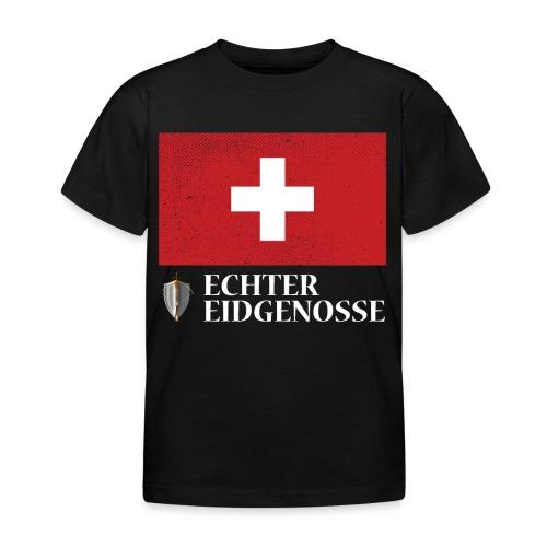 Echter Eidgenosse Schweiz - Kinder T-Shirt