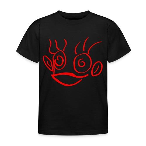 hannah monkey red - Kids' T-Shirt